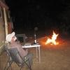 040 Bivouac dans le désert mauritanien premier feu