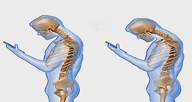 Ce que fait le téléphone portable sur votre colonne vertébrale