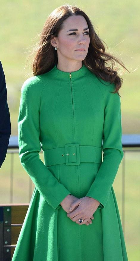 Kate en vert
