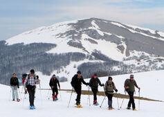 11 mars 2014 - But de Neve et Chironne en raquettes