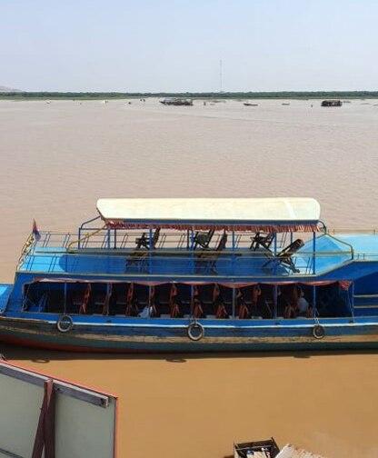 Suite du voyage de Noces N°9 Au Cambodge : Phnom Krom