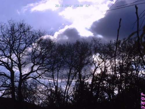 TEMPS DU JOUR  28/11/2012