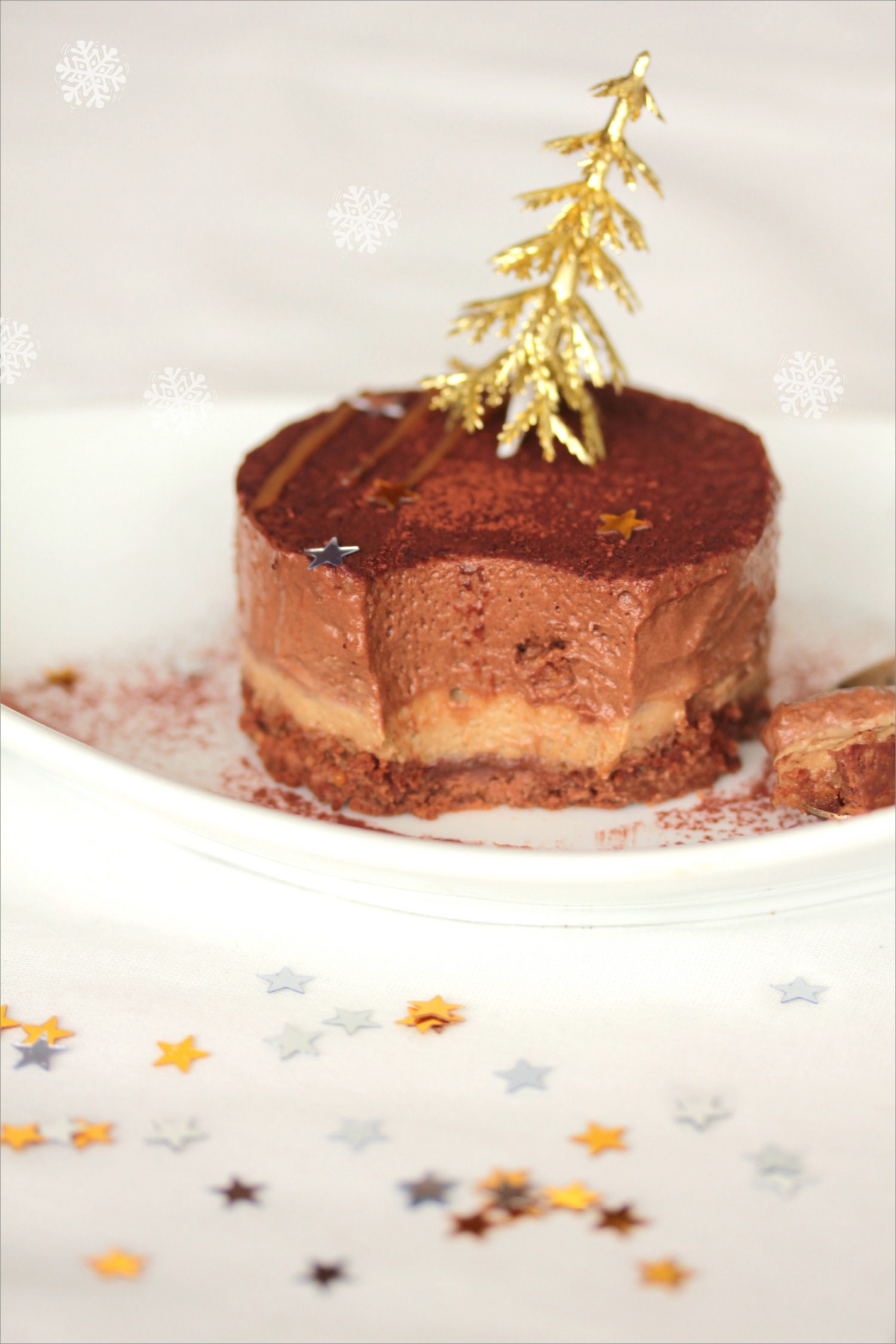 Recette gateau chocolat feuilletine praline