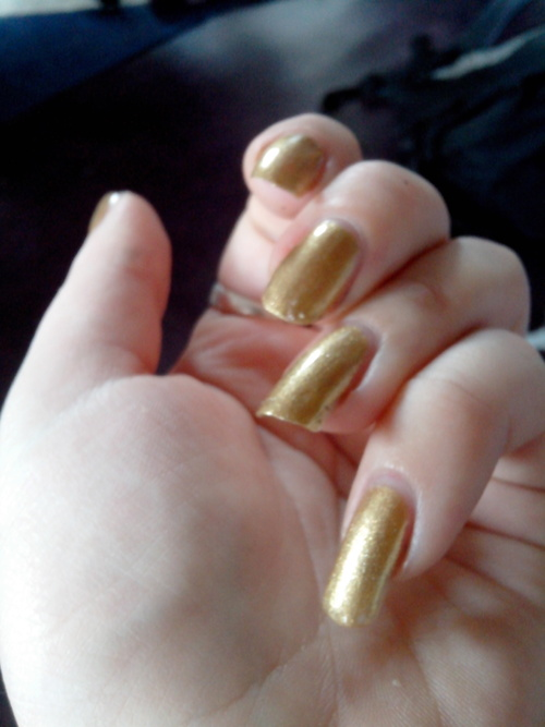 De l'or liquide au bout des doigts