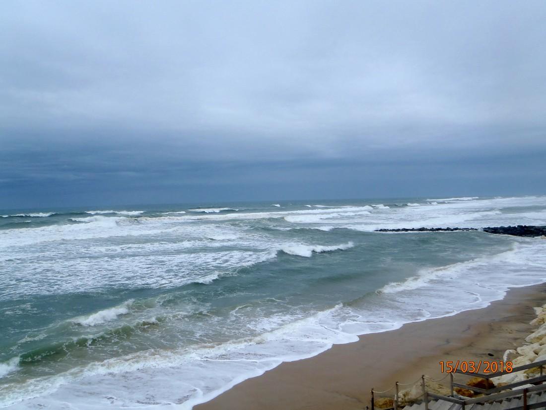 Petit tour à LACANAU - OCEAN le 15  mars