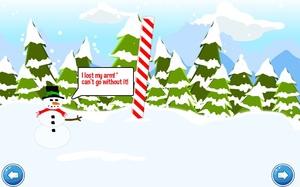 Jouer à Snowy frostman escape
