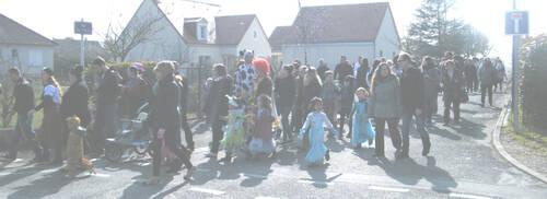 Carnaval des enfants - rue de l'école