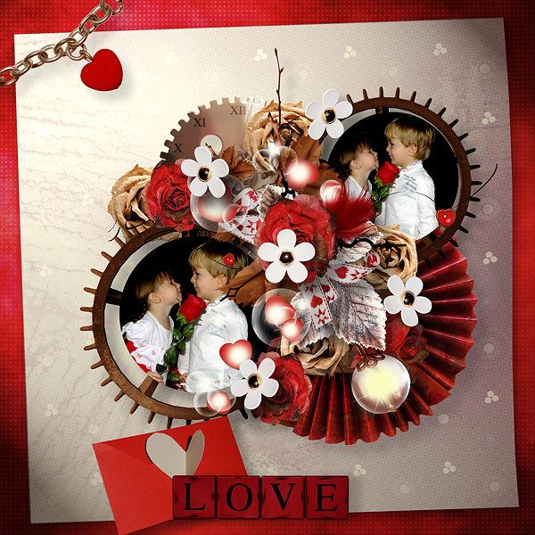 """""""L'horloge de mon coeur"""" by Valkyrie Designs"""