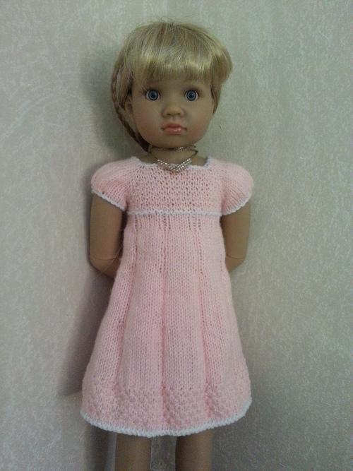 Une robe rose pour Lyson