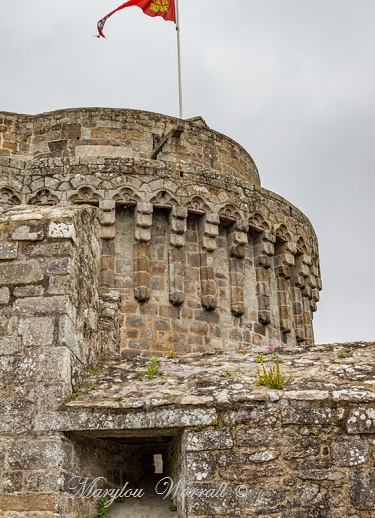 Bretagne : Dinan, Le Château 1/2