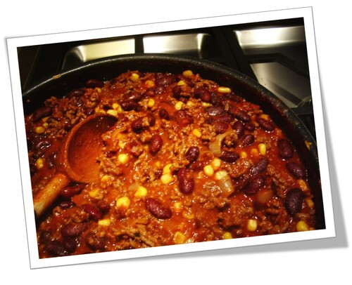 Chili con carne express