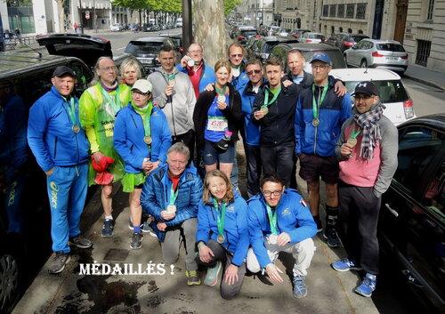 Paris un jour de marathon
