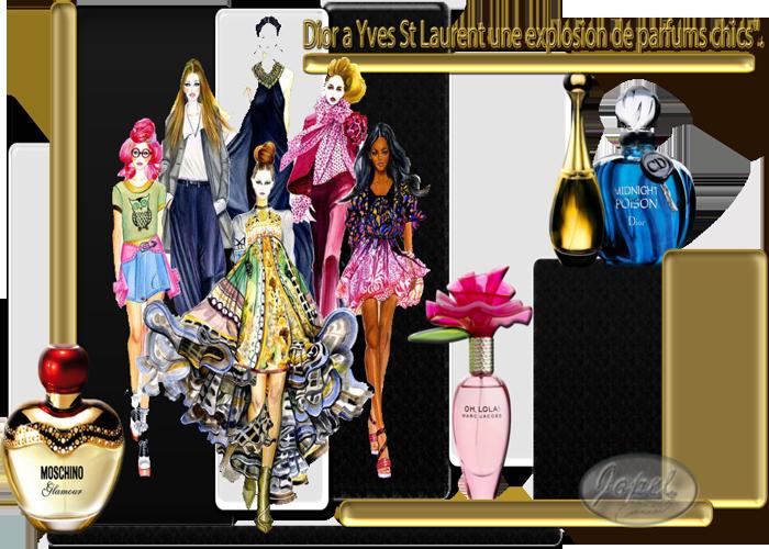 Défi Dior a Yves St Laurent chez Lara par jopel