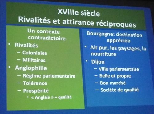 La Bourgogne et les Iles Britanniques