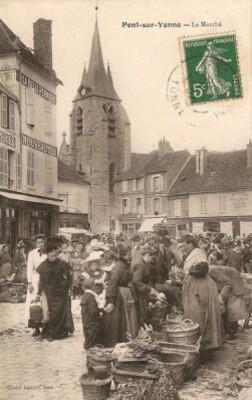 B marché de Pont