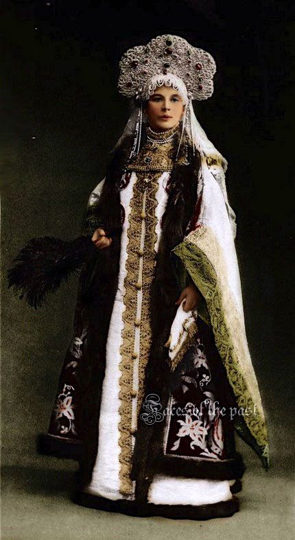Countess Sofia Alexandrovna Ferzen at the Winter Palace Costume Ball, St. Petersburg, 1903. by ~VelkokneznaMaria.: