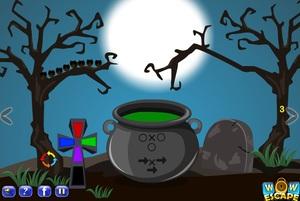 Jouer à Halloween trick or treat escape 6