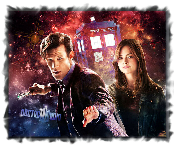 le Doctor MAtt SMITH et clara