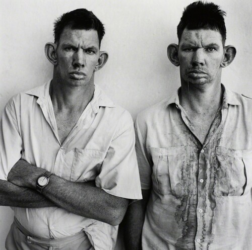 Roger Ballen, Dresie and Casie, Twins