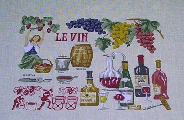 Lucas créations:  le vin