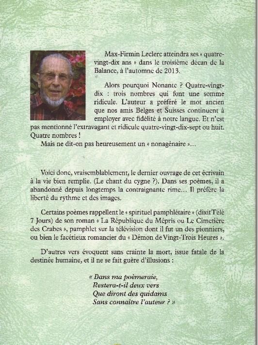 MAX-FIRMIN LECLERC PUBLIE
