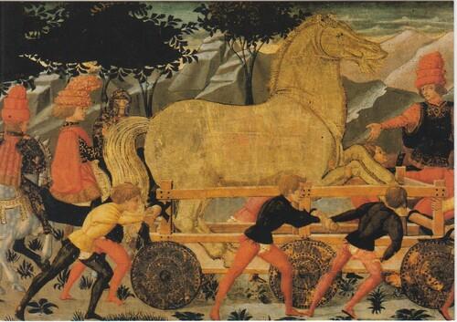 Une ruse de guerre : le cheval de Troie