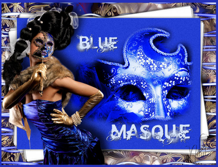 Blue Masque