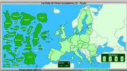 الخريطة التفاعلية للإتحاد الأوربي