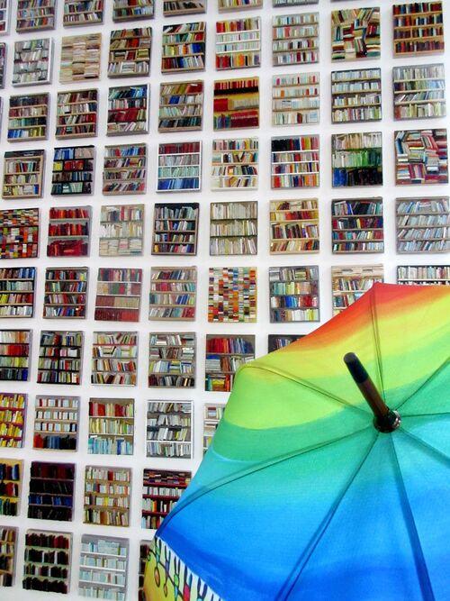 Art et parapluies