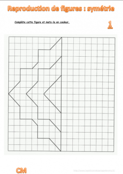 mathématiques : fichier de reproduction - CM