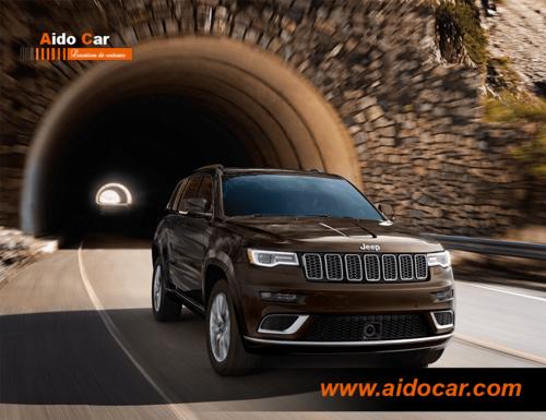 Réservez la nouvelle Jeep Grand cherokee limited à Casablanca