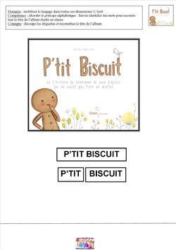 P'tit Biscuit - Exploitation pédagogique