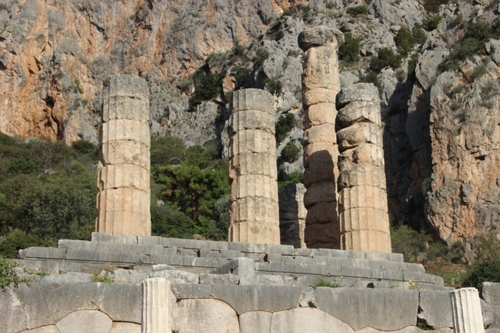 Delphes, le sanctuaire d'Apollon (3)