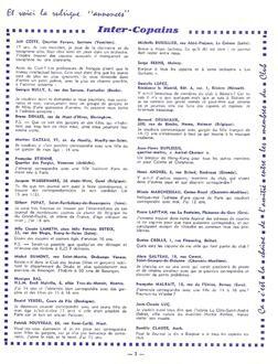 JOURNAL N°2 Mars 1964