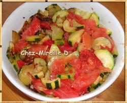 Gratin de Courgettes à la Mozzarella