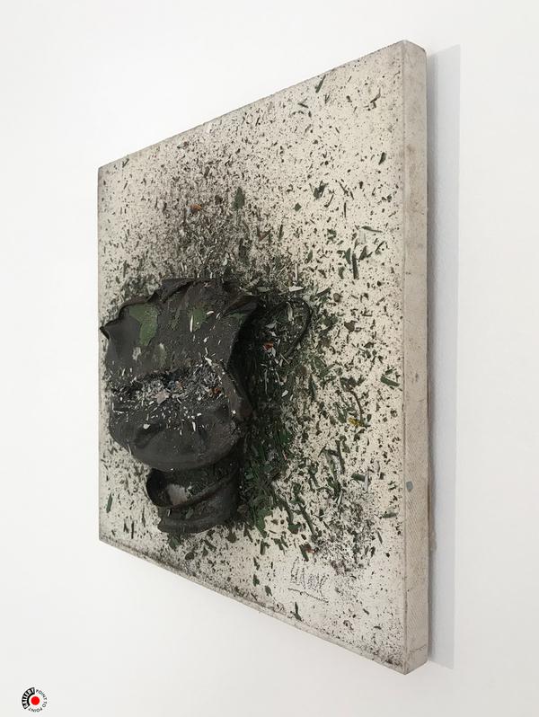 À PROPOS DE NICE À NIMES : CÉSAR, sculpture, théière, art Baldaccini
