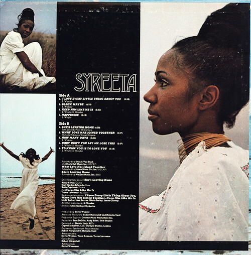 "Syreeta : Album "" Syreeta "" MoWest Records MW 113L [ US ]"