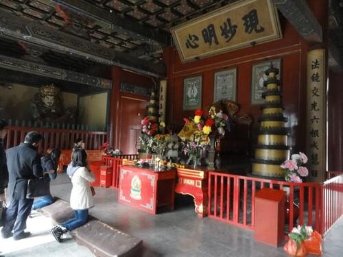 Visite du palis d'été et du pals du Lama