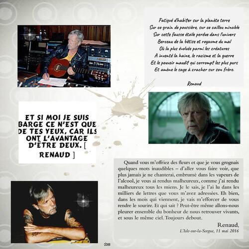 chanteur que j'ecoute et que j'aime Renaud Sechan