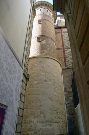 Les vestiges de l'enceinte de Philippe Auguste