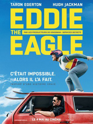 Affiche du film Eddie The Eagle streaming