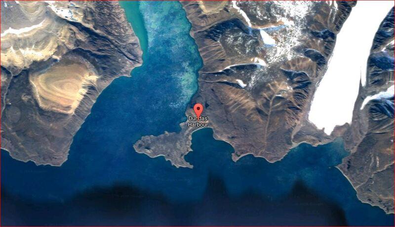 Panoramas vus de Dundas Harbour - Ile Devon - Baie de Baffin - Nunavut - Canada