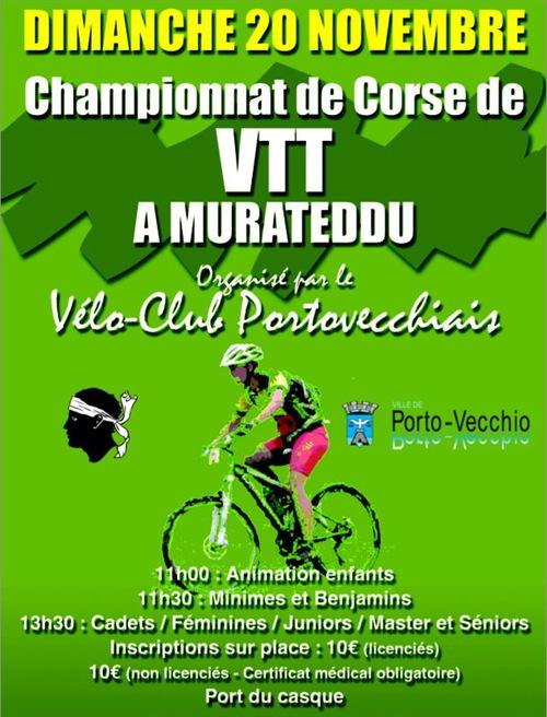 CHAMPIONNAT DE CORSE VTT 2011