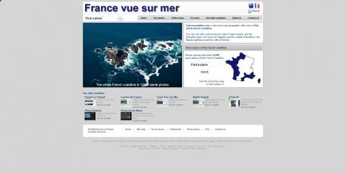 France vue sur mer