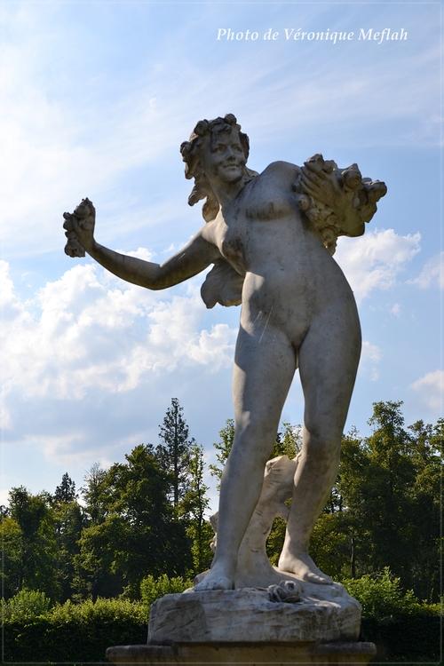 Château de Rambouillet : Hommage à Flore, déesse des fleurs de Paul Chevré