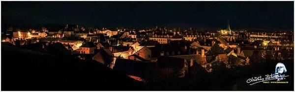 Châtillon sur Seine la nuit, de très belles photos de Christian Labeaune...(partie 1)