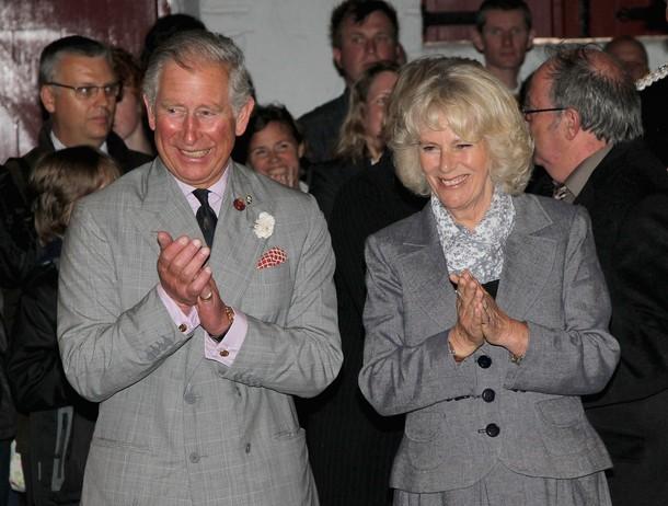 Charles et Camilla en Cornouailles