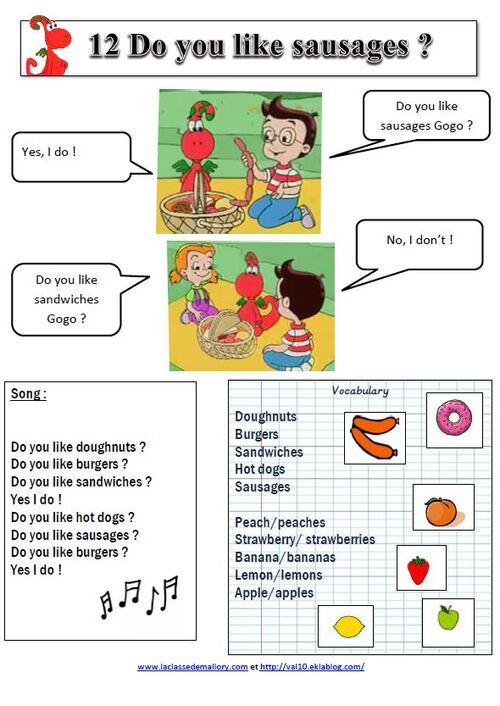 Gogo's adventure with english : leçons et exercices