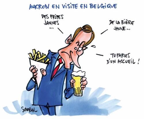 La reine Mathilde solidaire des gilets jaunes belges et français