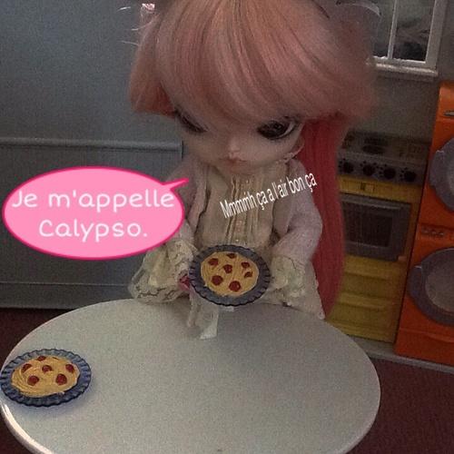 L'arrivé de Calypso